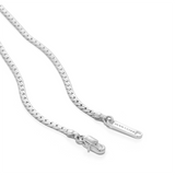 Priya Snake Chain Necklace - Silver