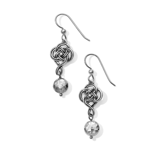 Interlok Knot French Wire Earrings