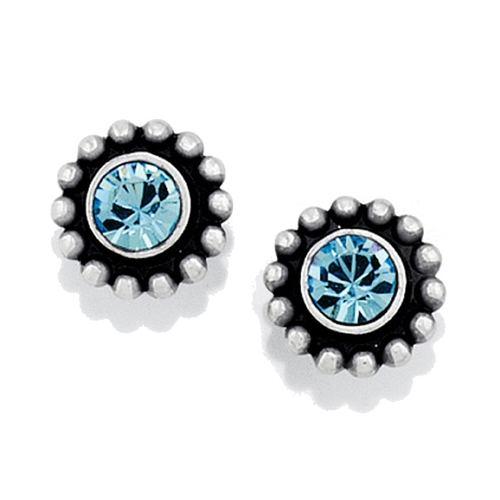 Twinkle Mini Post Earrings - Blue