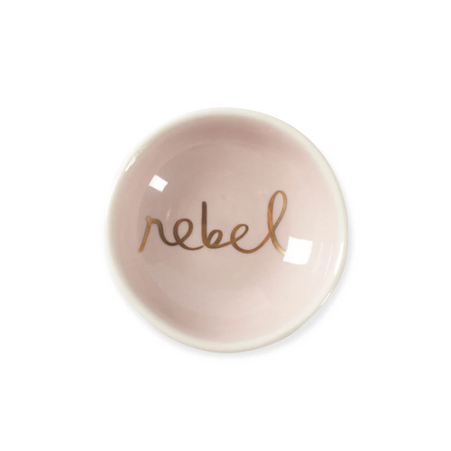 Round Trinket Tray - Rebel