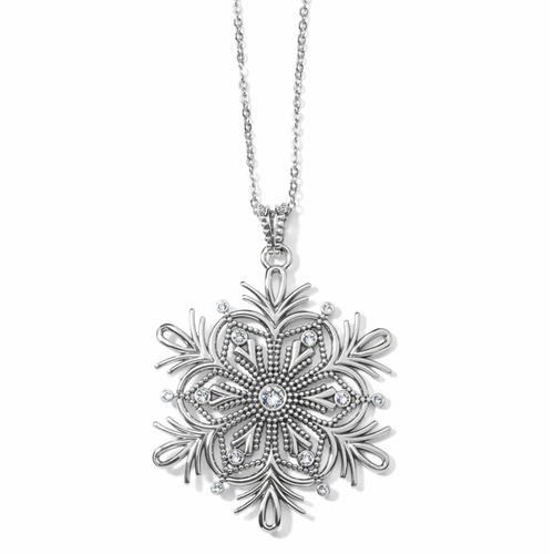 Winter Bliss Snowflake Cnv Necklace