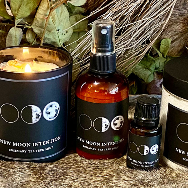 6 Oz New Moon Candle