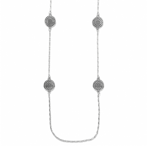 Pebble Round Rev Long Necklace