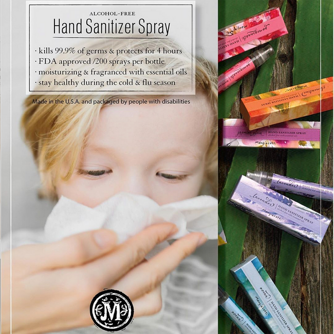 Hand Sanitizer Spray - Clementine