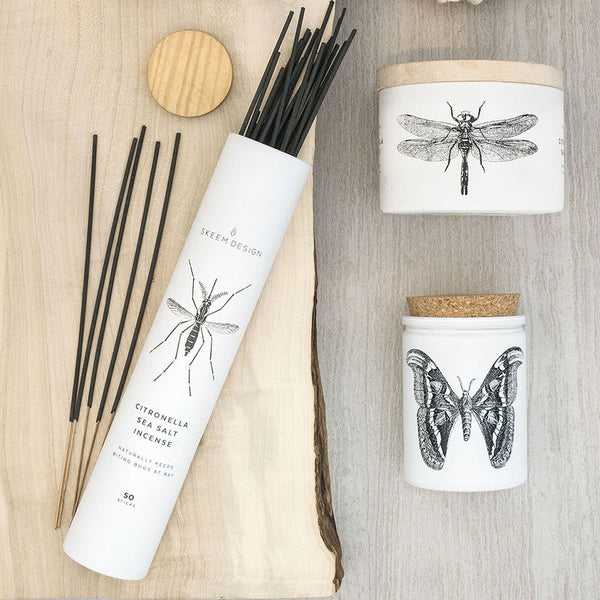Citronella Incense Tube - 50 Sticks
