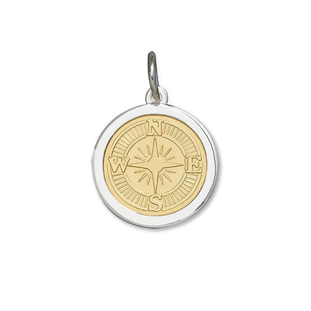 Medium Pendant - Compass Rose