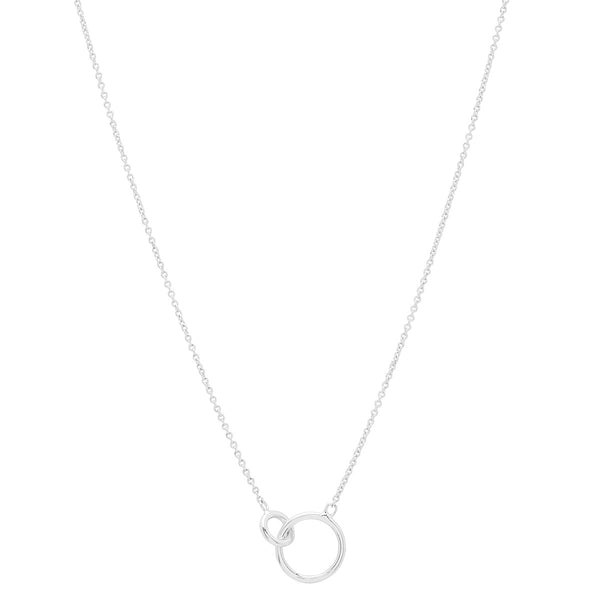 Wilshire Charm Necklace - Silver