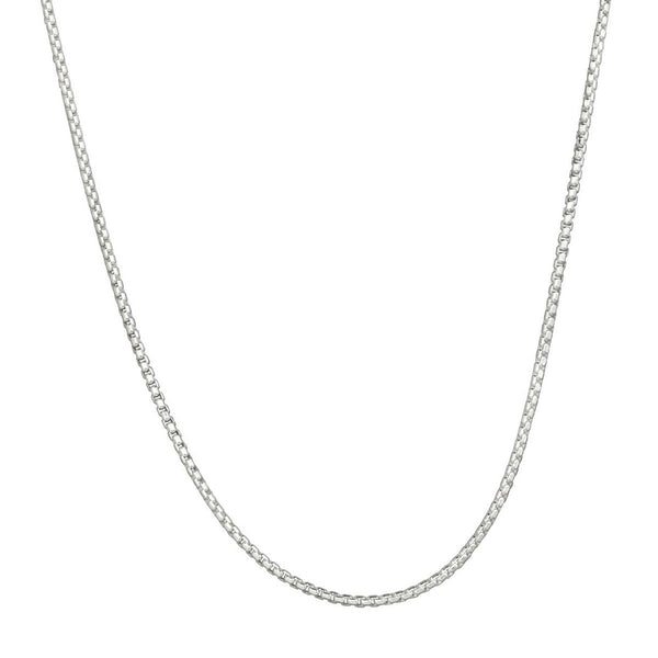 Rounded Box Chain - 2.0mm 16""