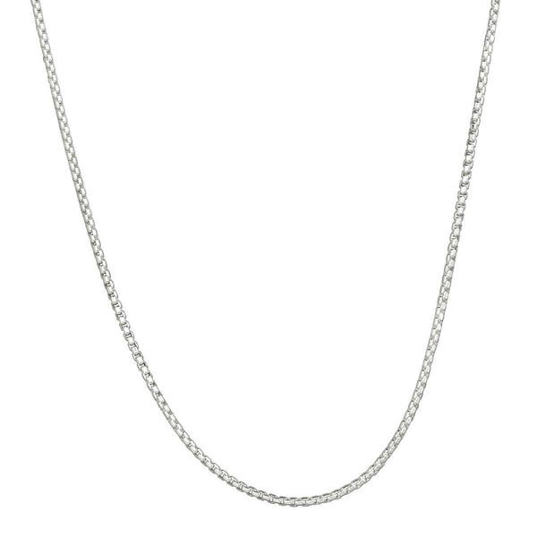 Rounded Box Chain - 2.0mm 18""