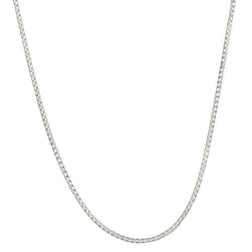 Rounded Box Chain - 2.0mm 20""