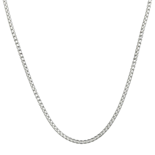 Rounded Box Chain - 3.0mm 20""