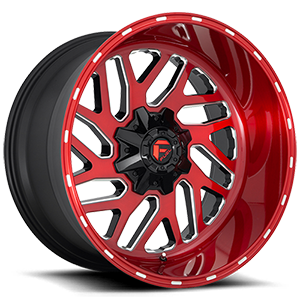 Fuel Off Road  フューエルオフロード ホイール TRITON D691 | Brushed Candy Red/Gloss Black/Milled