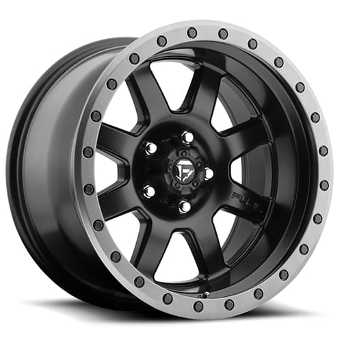 Fuel Off Road  フューエルオフロード ホイール TROPHY D551 | Matte Black w/ Anthracite Ring