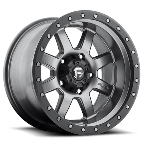 Fuel Off Road  フューエルオフロード ホイール TROPHY D552 | Matte Anthracite w/ Black Ring