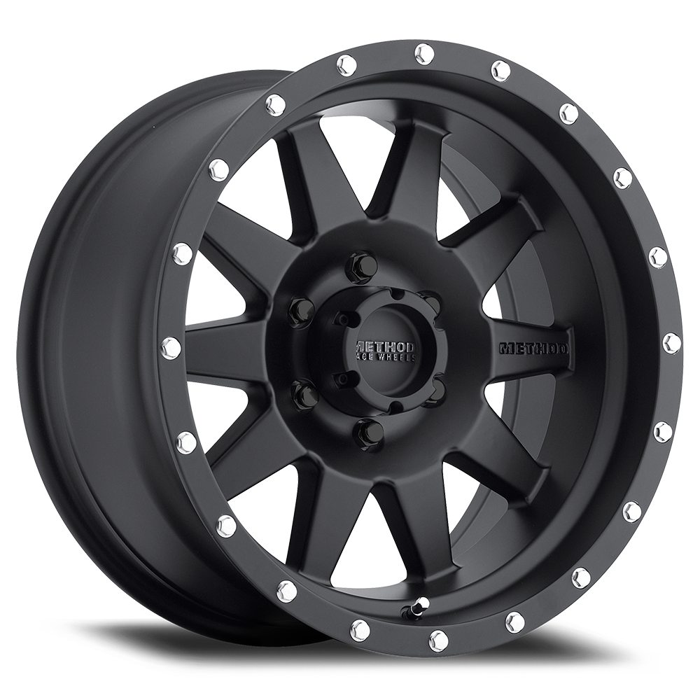 METHOD RACE WHEELS メソッド ホイール 301 | The Standard | Matte Black