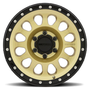 METHOD RACE WHEELS メソッド ホイール 315 | Gold / Black Lip