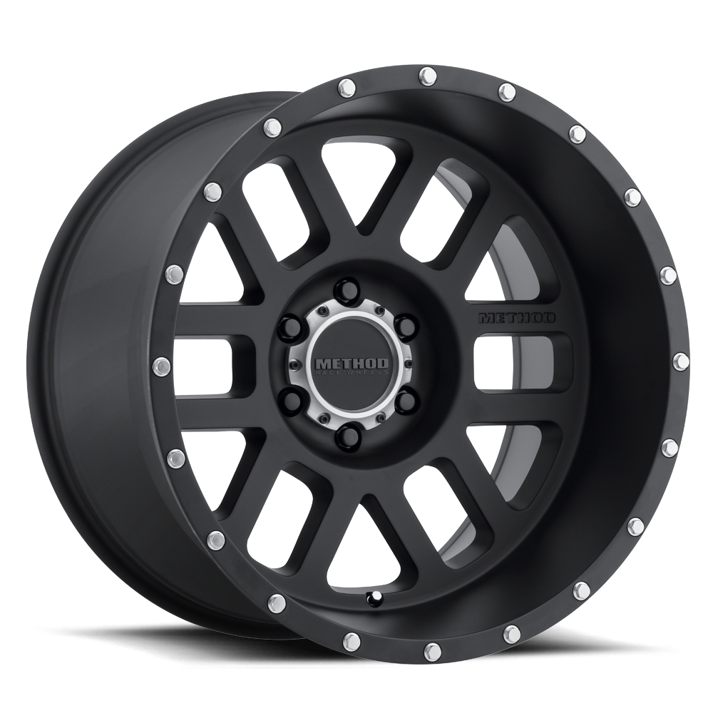 METHOD RACE WHEELS メソッド ホイール 606 | Mesh | Matte Black