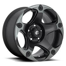 Fuel Off Road  フューエルオフロード ホイール MENACE D685 | Matte Black/Machined/DDT