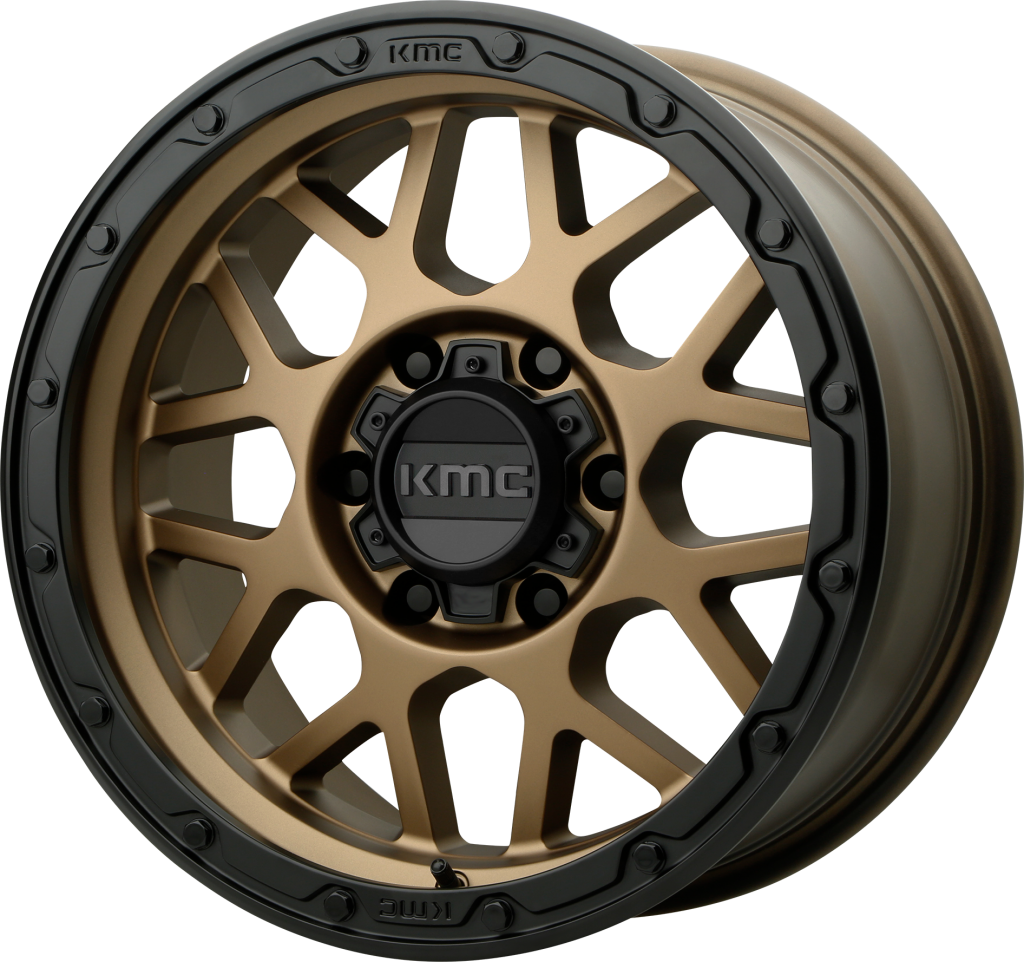 kmc ホイール KM535 GRENADE OR | Matte Bronze Matte Black Lip