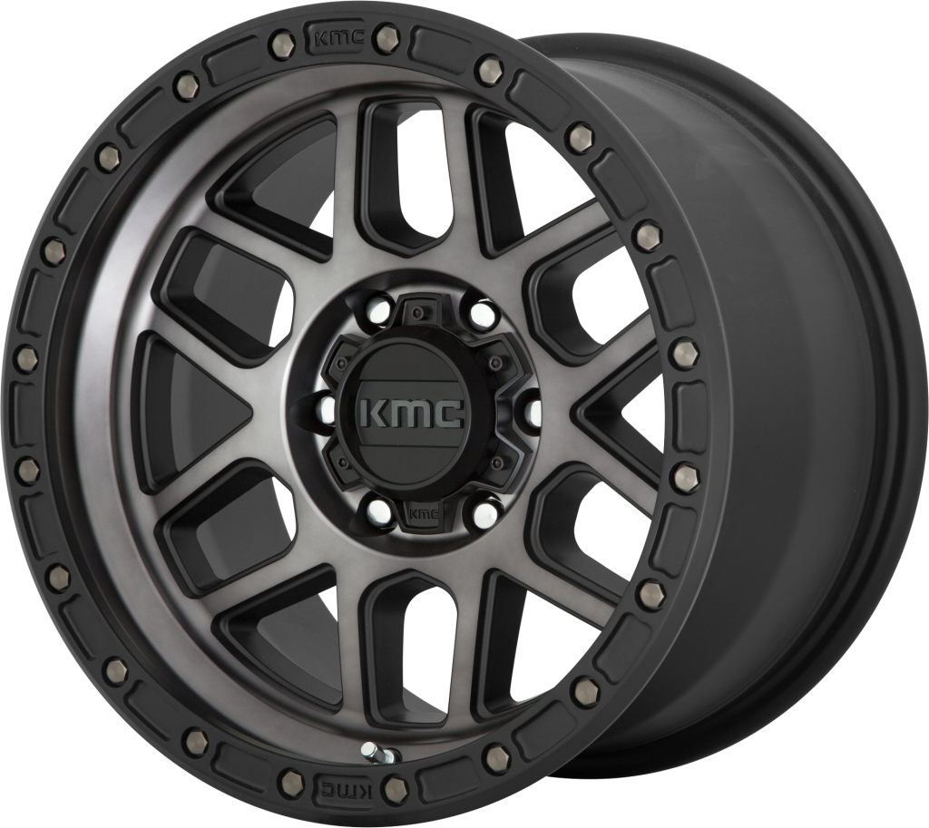 kmc ホイール KM544 MESA | Satin Black With Gray Tint