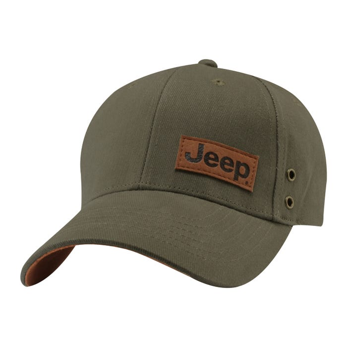 SUEDE PATCH CAP