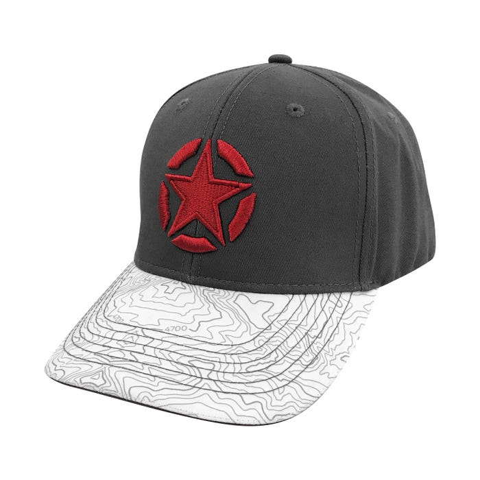 TOPOGRAPHIC STAR HAT