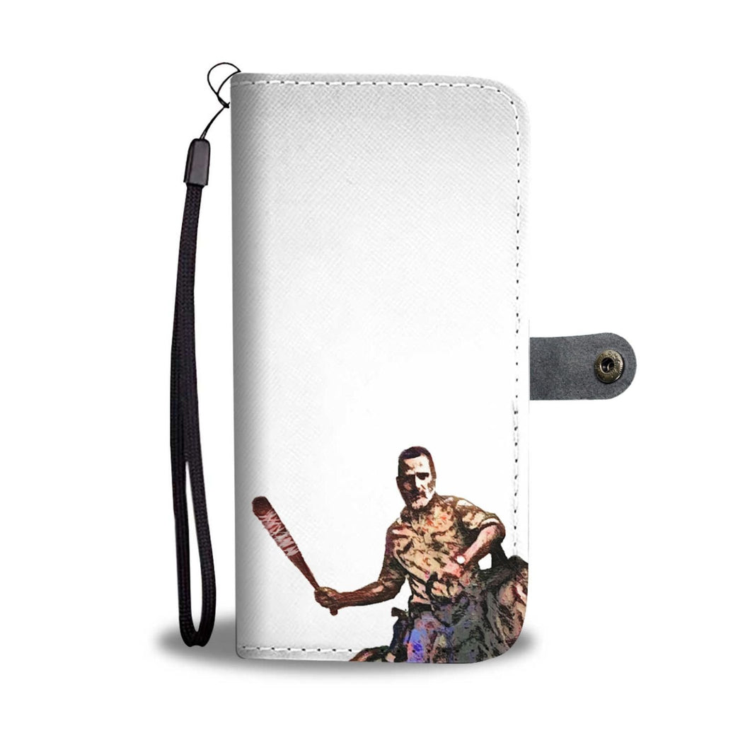 Custom Walking Dead Phone Wallet
