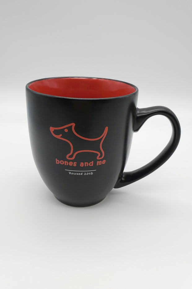 Rescued 2018 – Bistro Mug in Brick Red