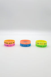 Youth Silicone Bracelet - 6-pack
