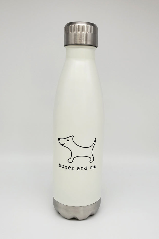 White and Coral 17oz Bulldog - two-pack