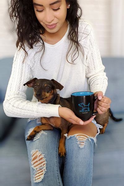 Rescued 2018 – Bistro Mug in Electric Blue
