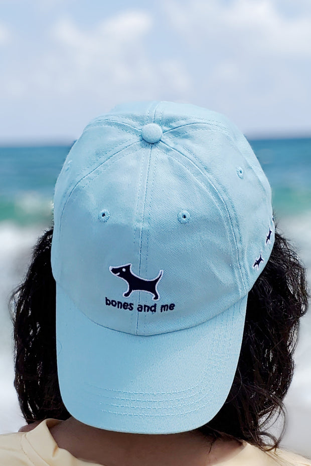 bones and me baseball cap
