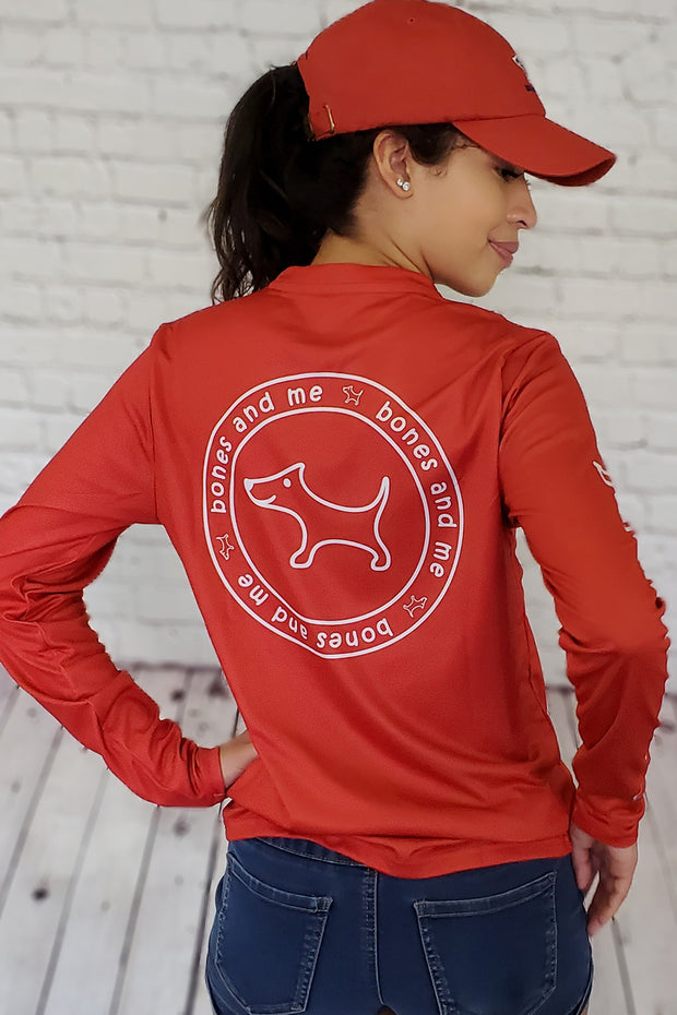 RDR - Red River Sun Shirt in Brick Red (unisex)