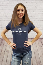 Bones and me youth t-shirt