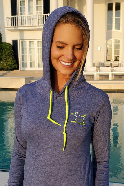 Embroidered Bella Light Hoodie
