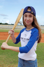 Bella Fit Baseball 3/4 Sleeve