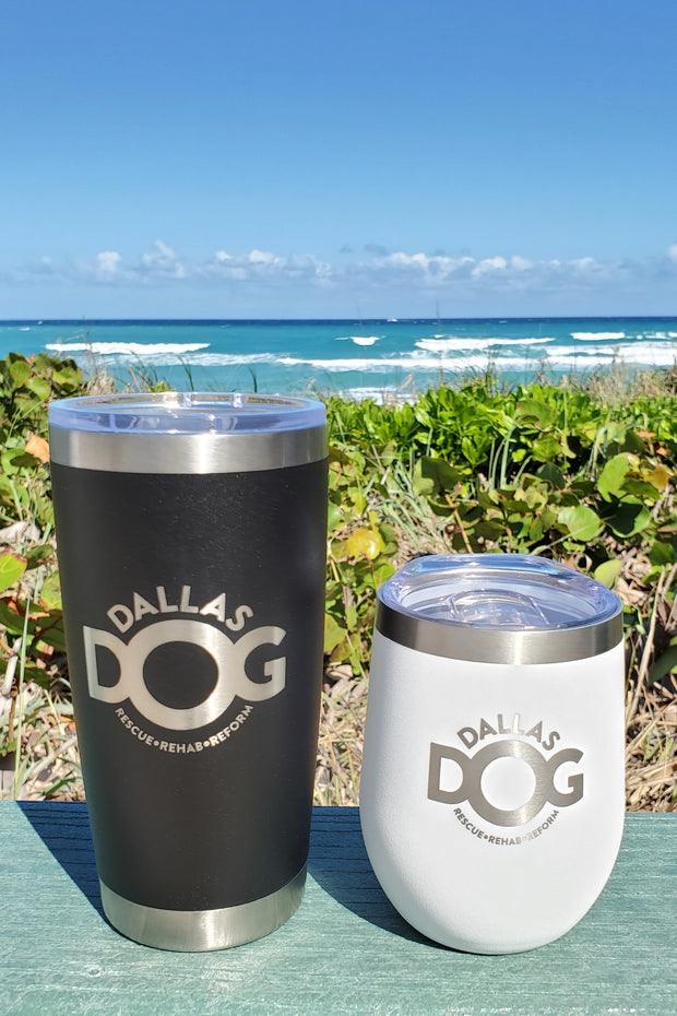DALLAS DOG - 2-Pack Drink Tumbler