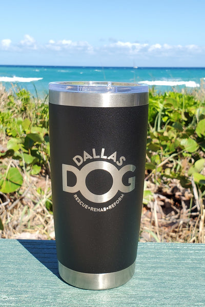 Dallas Dog - 20oz Drink Tumbler (7 COLORS)