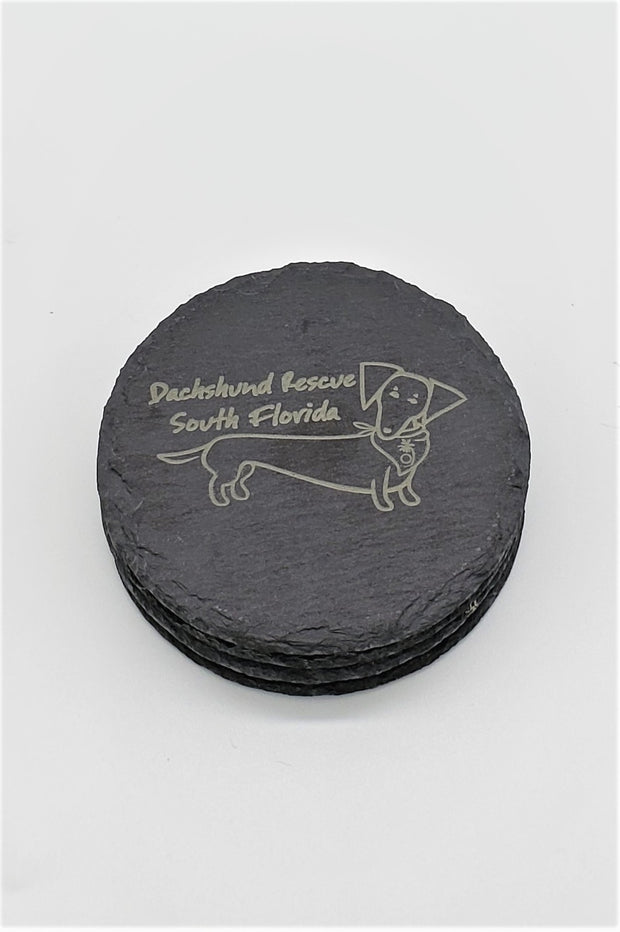 Set of 4 DRSF Engraved Coasters