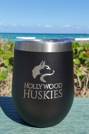 Hollywood Huskies - 12oz Drink Tumbler