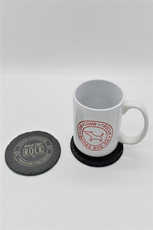 Set of 4 RDR Engraved Coasters