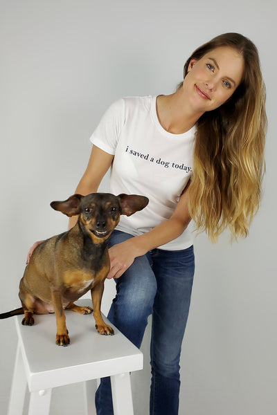 i saved a dog today Tee - 4 colors (RDR edition)