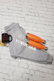 I ♡ VUCJAK Joggers (Heather Grey)