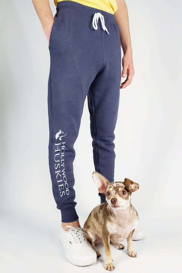 All Day Joggers - Partner Edition (Heather Navy)
