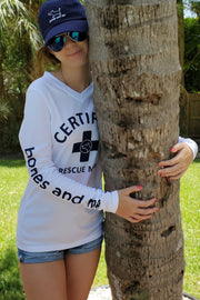 Certified Rescue Mom Sun Shirt - Partner Edition