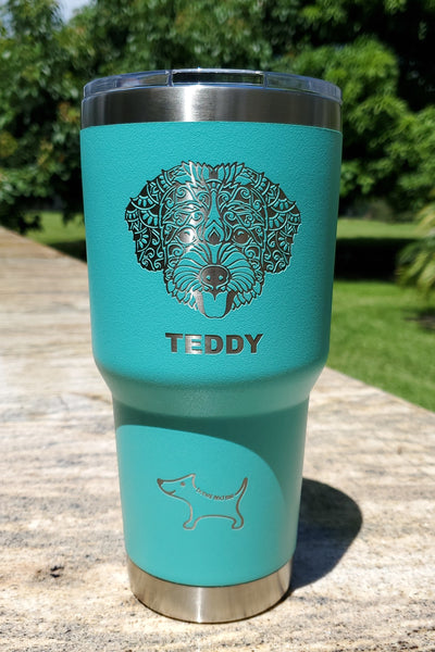 Mandala Cup 30oz (40+ breeds available) 6 colors