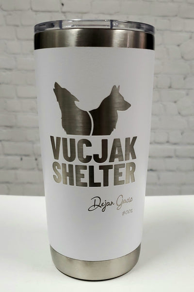 SIGNED & NUMBERED - LTD EDITION - VUCJAK - 20/30oz Drink Tumbler
