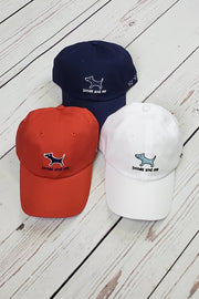Red, White and Blue Baseball Caps - 3-pack