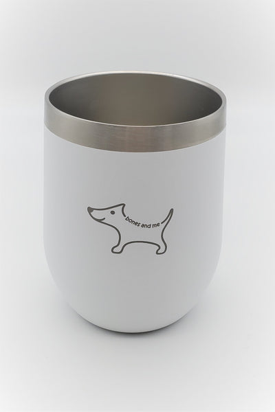 White Chi - 12oz Wine Tumbler