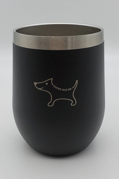 Black Chi - 12oz Wine Tumbler